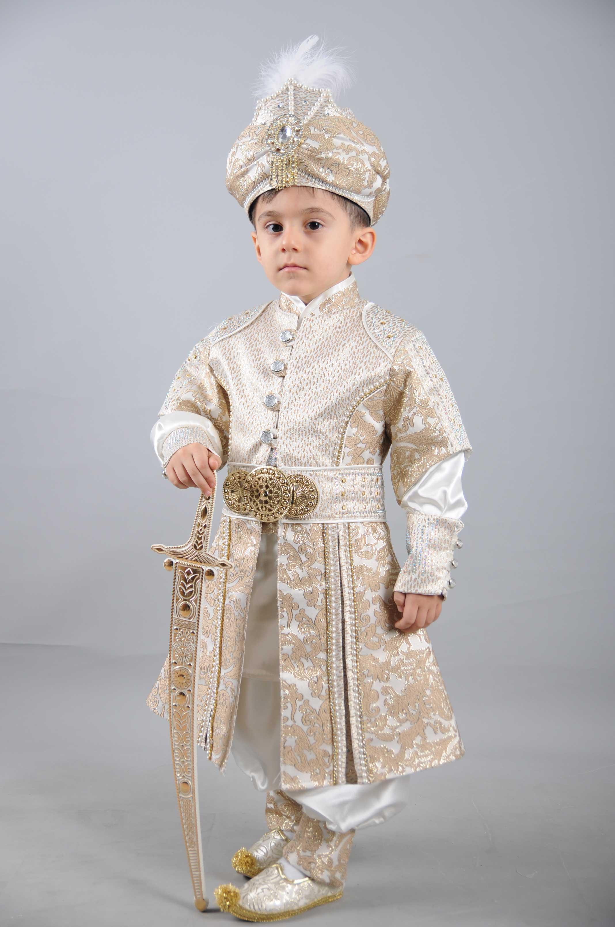 Diriliş Şehzade Kahve Sünnet Kıyafeti